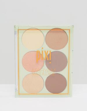Палитра для контуринга и стробинга & Maryam Maquillage Pixi. Цвет: мульти