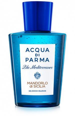 Гель для душа Blu Mediterraneo Mandorlo di Sicilia Acqua Parma. Цвет: бесцветный