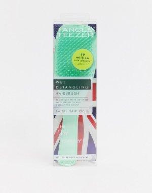 Щетка для распутывания влажных волос светло-бирюзового цвета -Зеленый Tangle Teezer