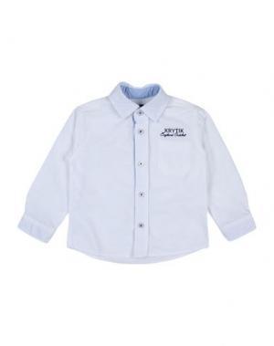 Pубашка KRYTIK. Цвет: белый