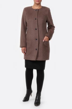 Пальто Шанель Веталика. Цвет: бежевый