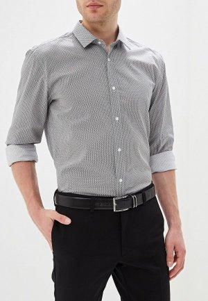 Рубашка Hugo. Цвет: серый