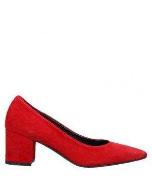 Туфли BALLERINA. Цвет: красный