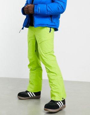 Зеленые горнолыжные штаны Power Stash-Зеленый цвет Columbia