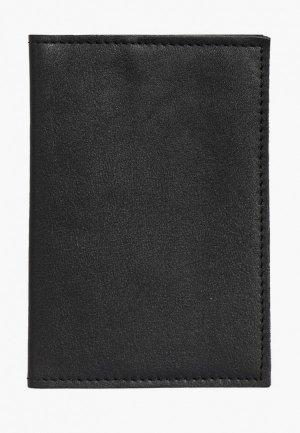 Обложка для паспорта Kokosina. Цвет: черный