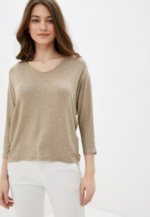 Пуловер Mango - NECKOVER. Цвет: бежевый