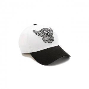 Бейсболка Genuine Motorclothes Harley-Davidson. Цвет: чёрно-белый