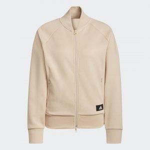 Куртка-бомбер Sportswear Future Icons Logo Graphic adidas. Цвет: бежевый