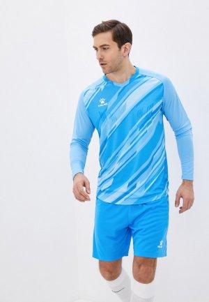 Костюм спортивный Kelme Goalkeeper L/S Suit. Цвет: голубой