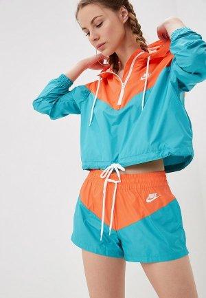 Ветровка Nike SPORTSWEAR WOMENS WINDBREAKER. Цвет: разноцветный