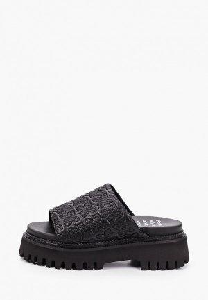 Сабо Bronx Groovy Sandal. Цвет: черный