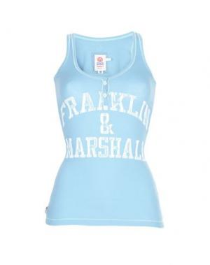 Майка FRANKLIN & MARSHALL. Цвет: небесно-голубой