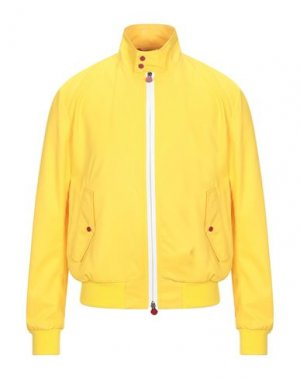 Куртка KITON. Цвет: охра