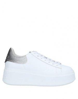 Низкие кеды и кроссовки ASH. Цвет: белый