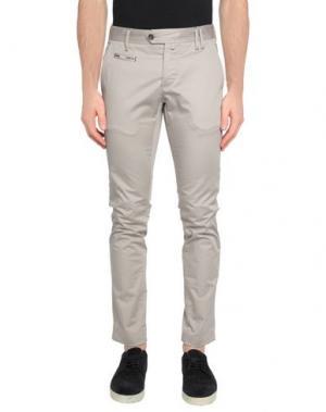 Повседневные брюки AT.P.CO. Цвет: голубиный серый