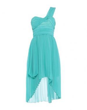 Короткое платье X'S MILANO. Цвет: светло-зеленый