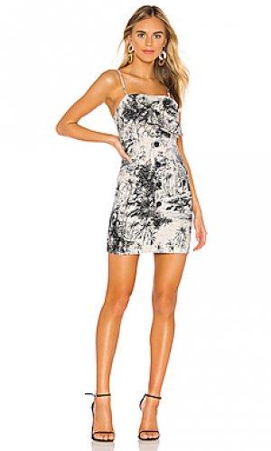 Платье maradona Shona Joy. Цвет: черный
