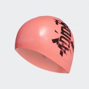 Плавательная шапочка Silicone Performance adidas. Цвет: черный