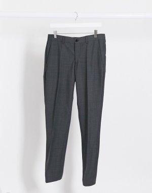 Серые узкие брюки -Серый Esprit