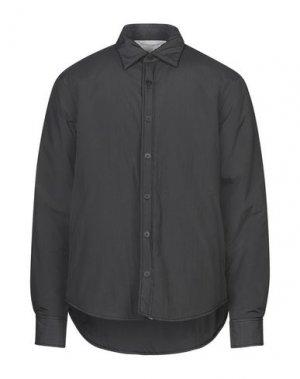 Pубашка MAISON FLÂNEUR. Цвет: стальной серый