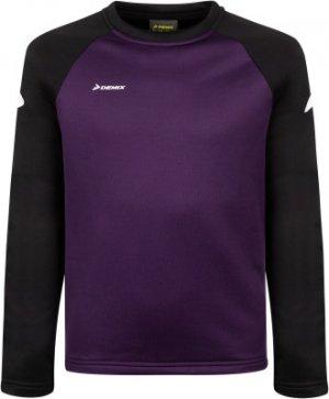 Джемпер футбольный для мальчиков , размер 152 Demix. Цвет: фиолетовый
