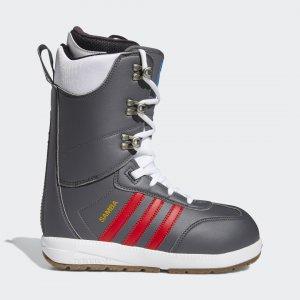 Сноубордические ботинки Samba ADV Originals adidas. Цвет: золотой