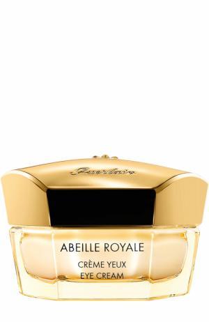 Восстанавливающий крем вокруг глаз Abeille Royale Guerlain. Цвет: бесцветный