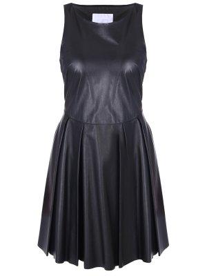 Платье кожаное LES HOMMES