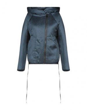 Куртка ILARIA NISTRI. Цвет: цвет морской волны