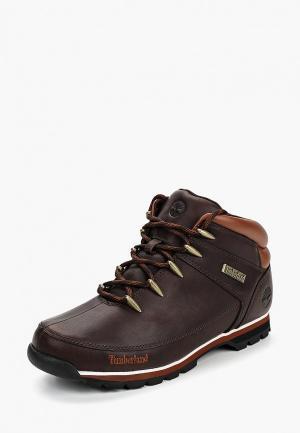 Ботинки трекинговые Timberland EURO SPRINT DK BROWN DARK. Цвет: коричневый