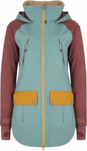 Куртка утепленная женская Prowess, размер 42-44 Burton. Цвет: голубой