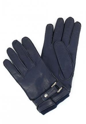 Перчатки SERMONETA. Цвет: синий