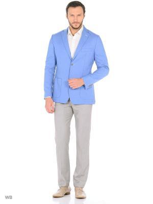 Пиджак La Biali. Цвет: голубой