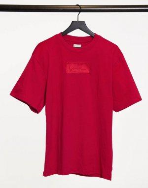 Красная футболка с логотипом Signature-Красный Karl Kani