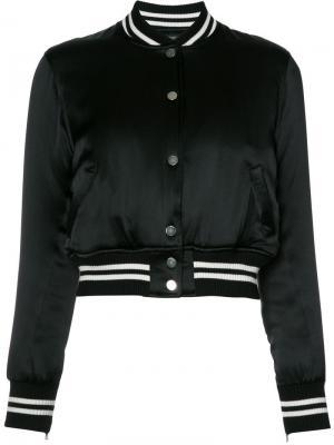 Куртка-бомбер Amiri. Цвет: черный