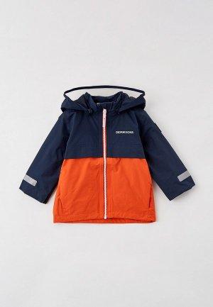 Куртка Didriksons VIKEN. Цвет: разноцветный