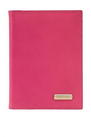 Розовая обложка для документов Eleganzza. Цвет: красный