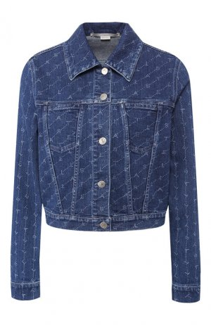 Джинсовая куртка Stella McCartney. Цвет: темно-синий