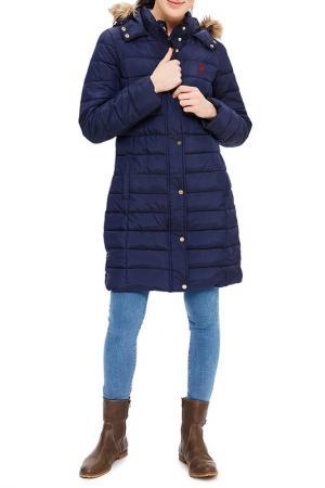 Куртка U.S. Polo Assn.. Цвет: vr033 темно-синий