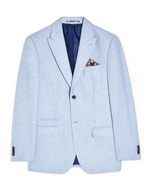 Пиджак TOPMAN. Цвет: лазурный