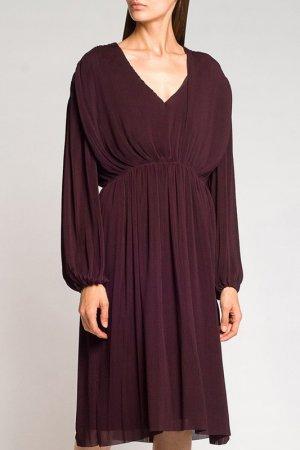 Платье Designers Remix. Цвет: фиолетовый