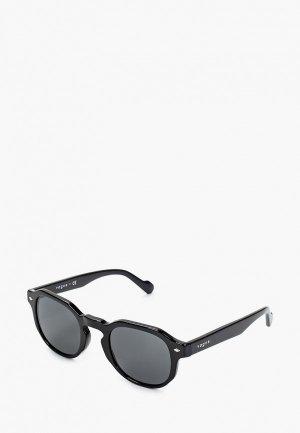 Очки солнцезащитные Vogue® Eyewear VO5330S W44/87. Цвет: черный
