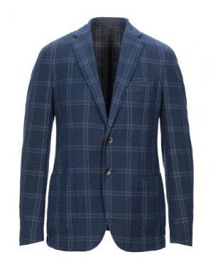 Пиджак SANTANIELLO. Цвет: синий