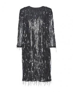 Короткое платье CLIPS MORE. Цвет: черный
