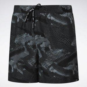 Плавательные шорты Woven Reebok. Цвет: black