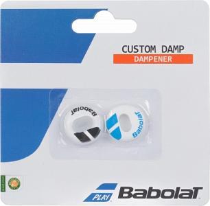 Виброгаситель Custom Damp x2 Babolat. Цвет: белый