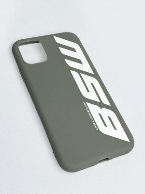 Чехол силиконовый для телефона BSW L.L.E. Black Star Wear. Цвет: серый