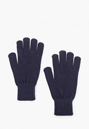 Перчатки Jack & Jones. Цвет: синий