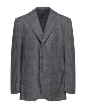 Пиджак CESARE ATTOLINI. Цвет: серый