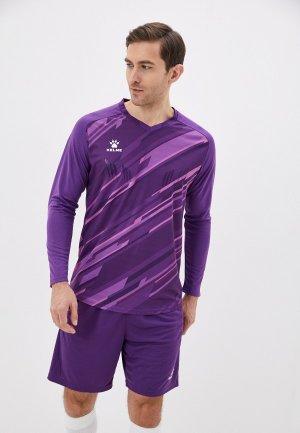 Костюм спортивный Kelme Goalkeeper L/S Suit. Цвет: фиолетовый